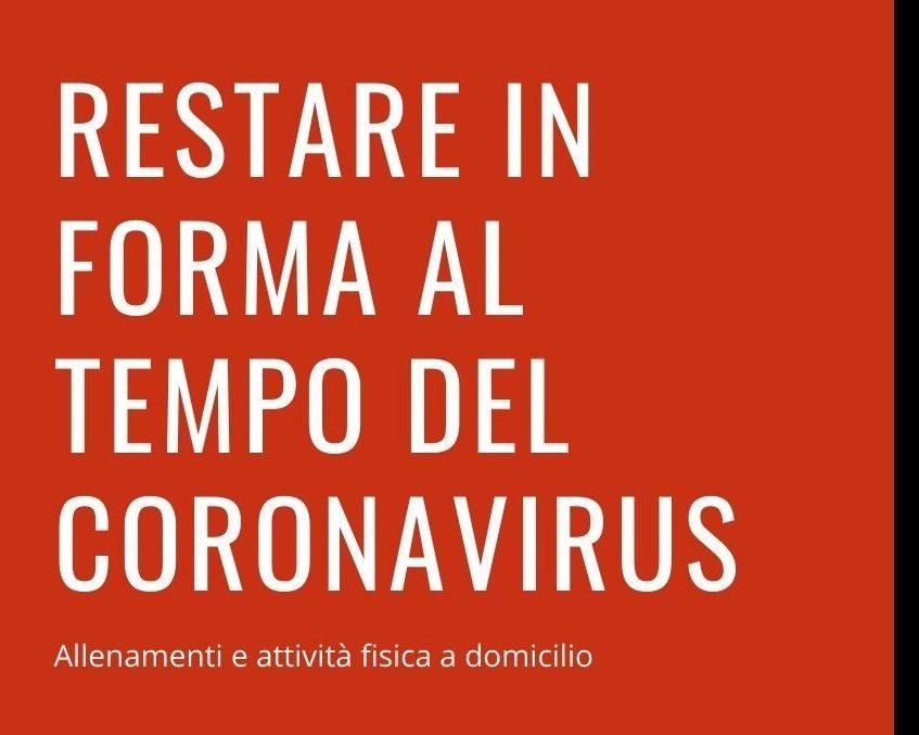 Attività motoria a casa al tempo del Coronavirus